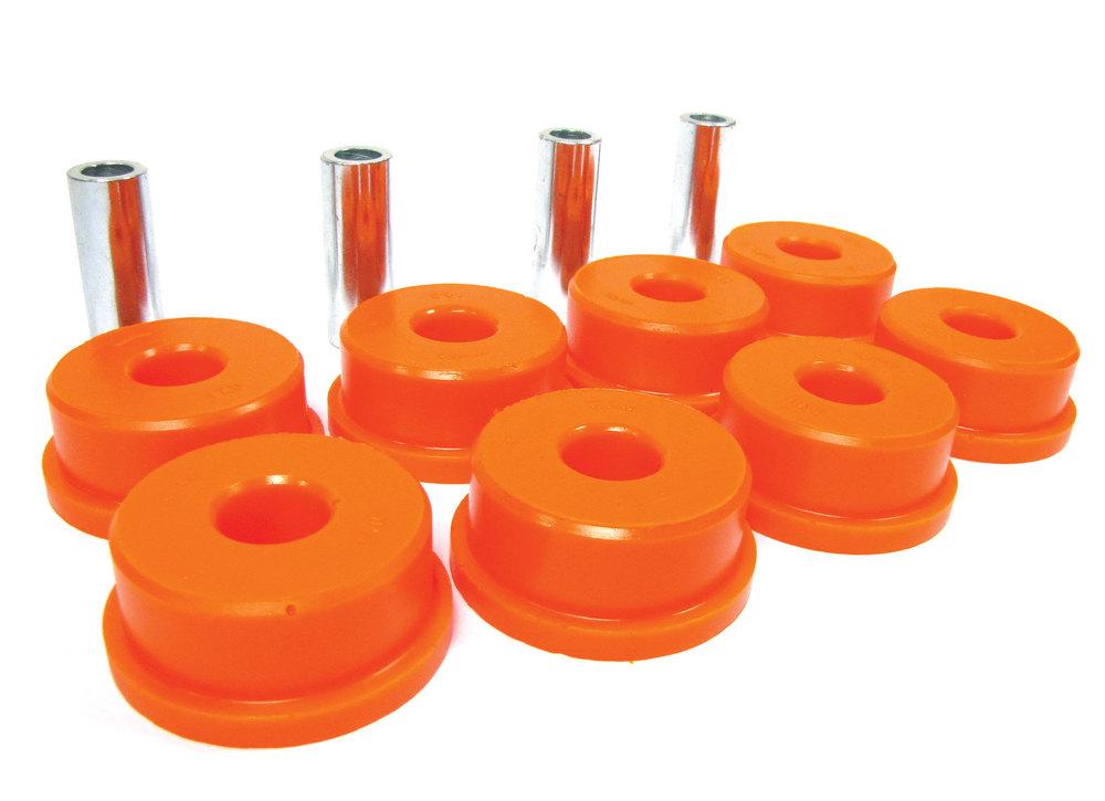 Orange Polybush Rear Radius Arm To Axle 2