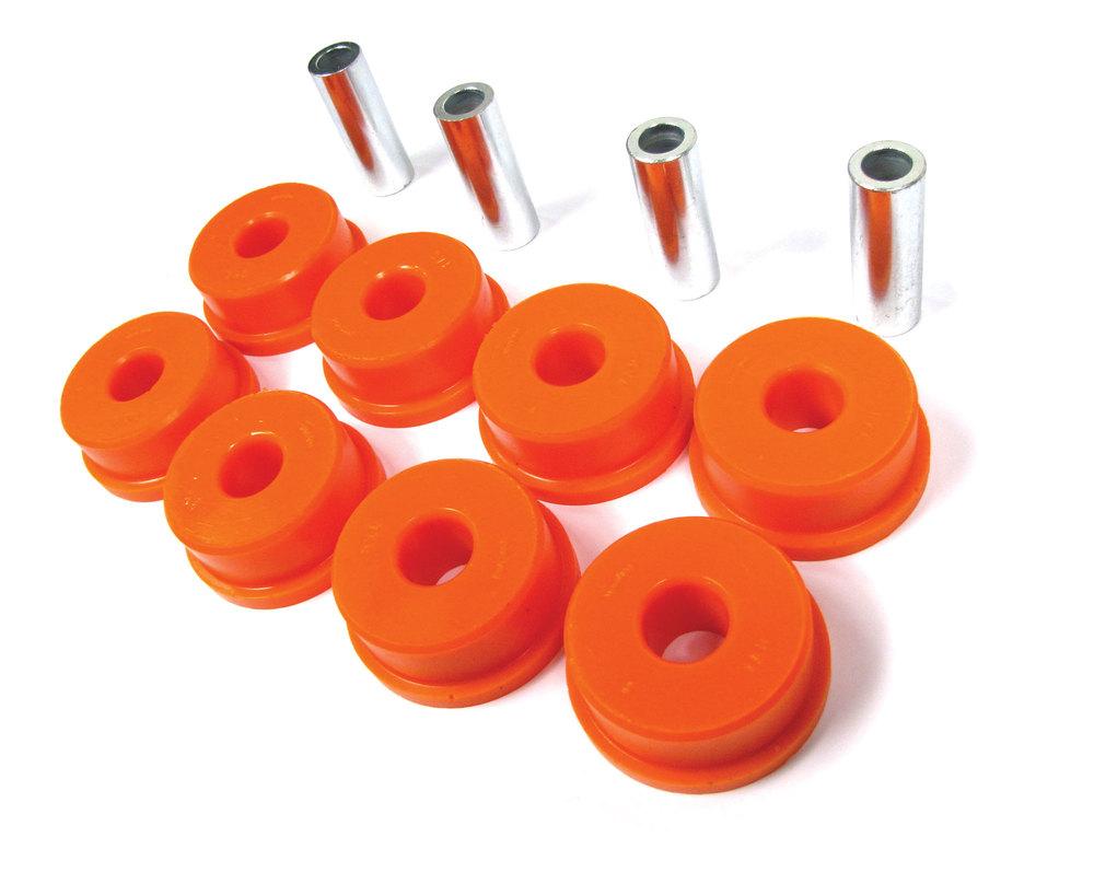 Orange Polybush Rear Radius Arm To Axle 3