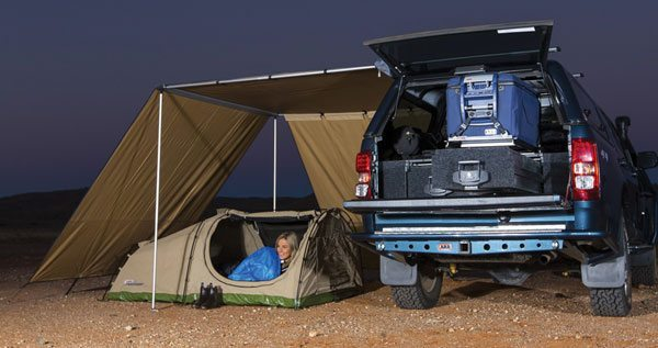 ARB awning wind break