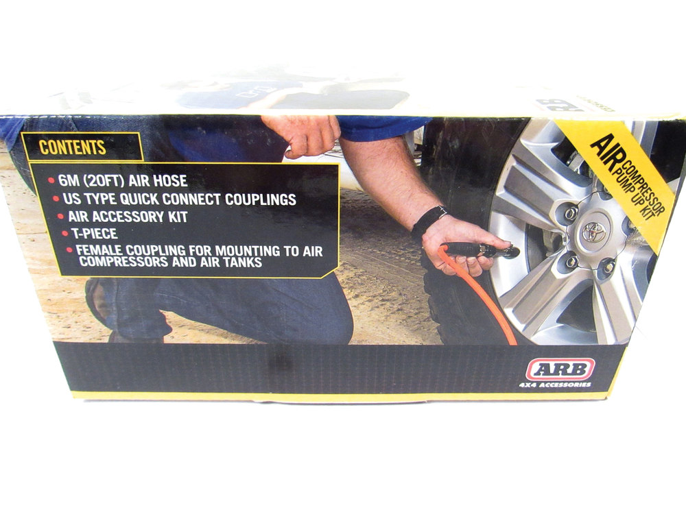 ARB Tire Inflation Kit For Use With ARB On-Board Air Compressors