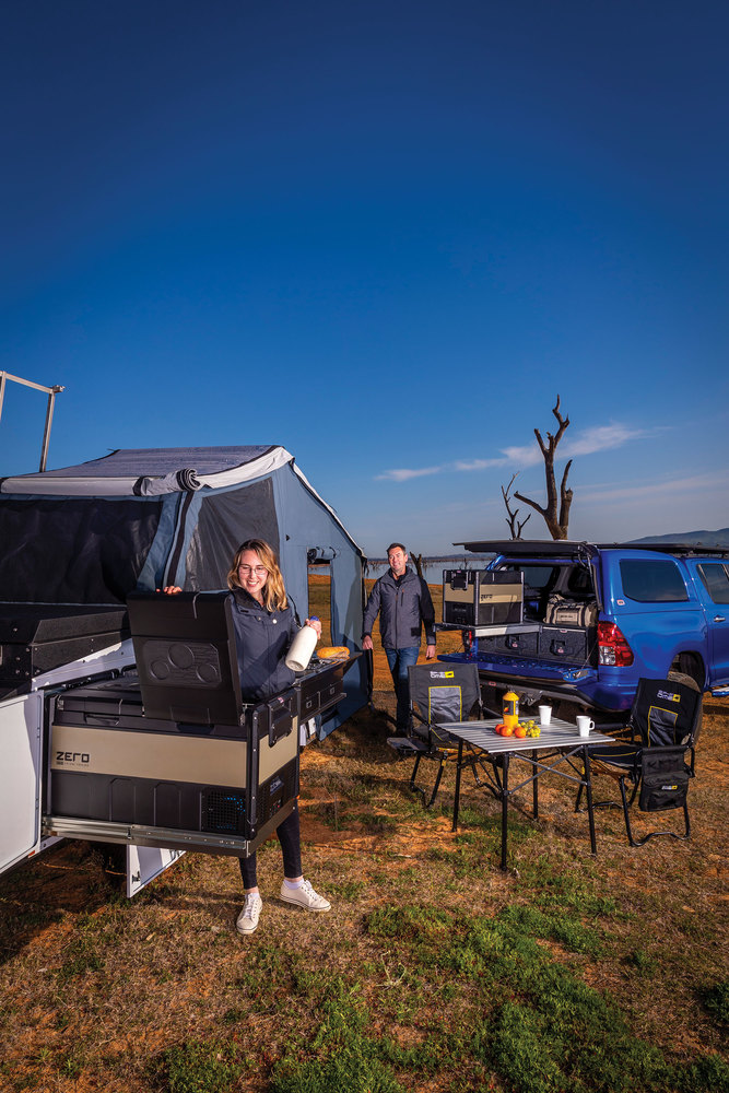 Shown with ARB Camping Table 10500130
