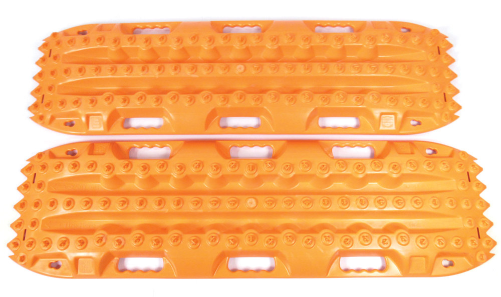 ActionTrax Off-Road Recovery Boards And Track System, Orange, Pair