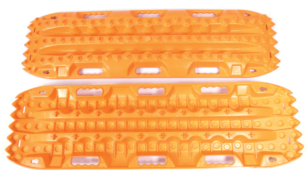 ActionTrax Off-Road Recovery Track System, Orange - Pair