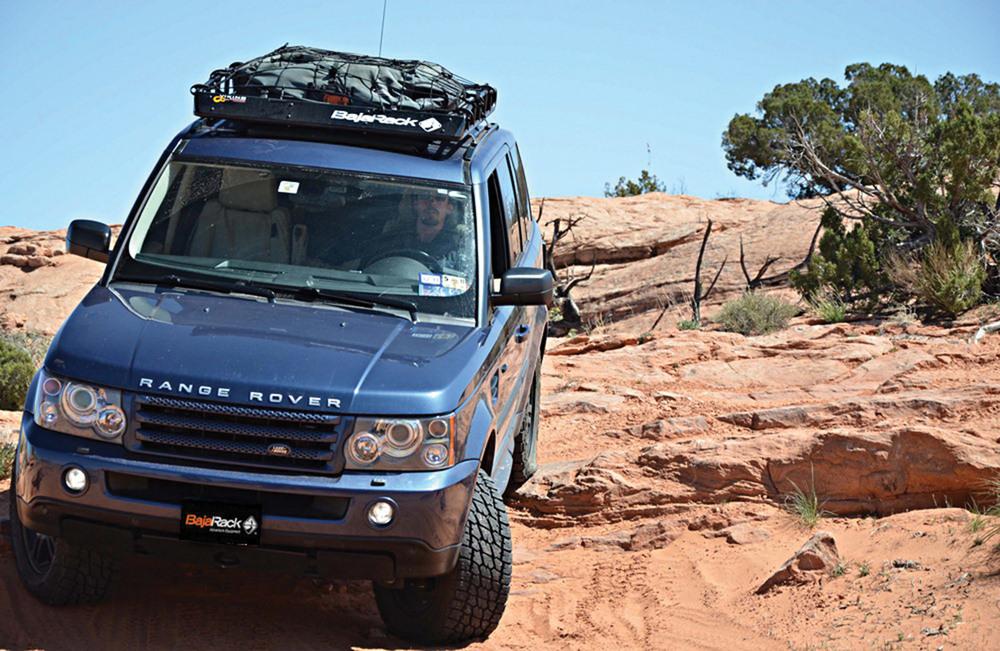 Standard Basket Roof Rack By BajaRack For Range Rover Sport
