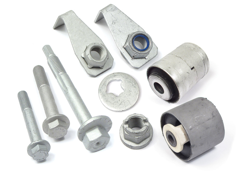 Suspension Replacement Bushing Kit, Rear Upper Control Arm, Imcudes Replacement Bushings And Hardware, For Land Rover LR3