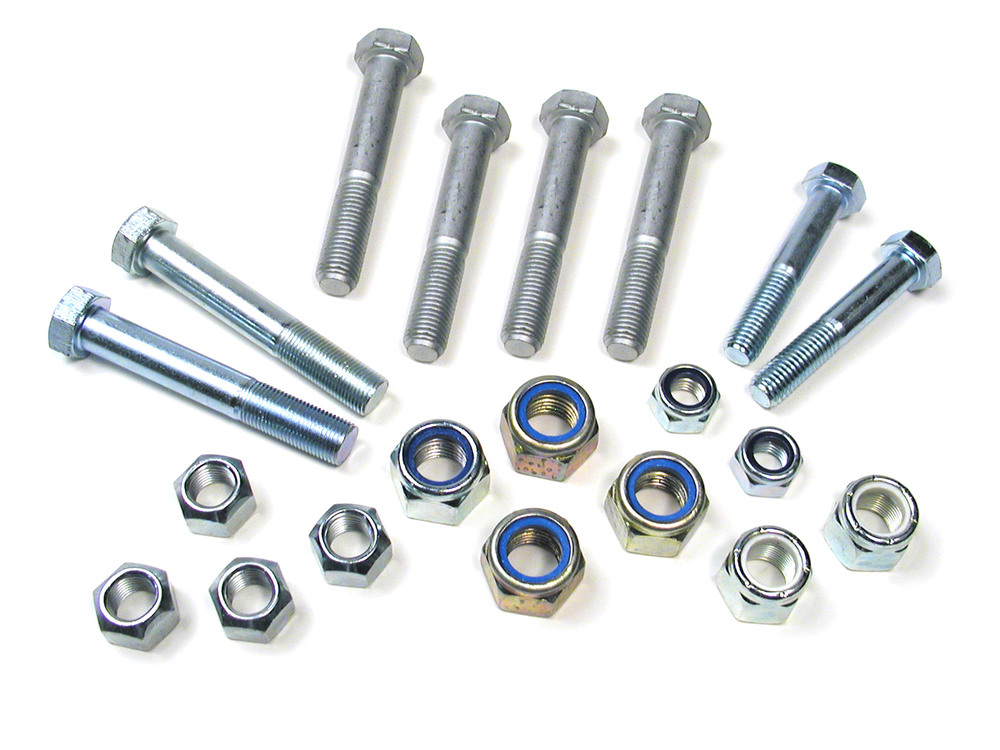 Steering Bolt Kit For Radius Arm, Trailing Arm And Panhard Rod To Axle, On Land Rover Discovery I, Defender 90 And 110, And Range Rover Classic (See Fitment Years)