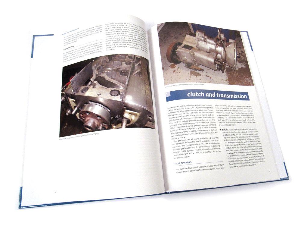 Book: Land Rover Series II, IIA And III, Maintenance And Upgrades Manual