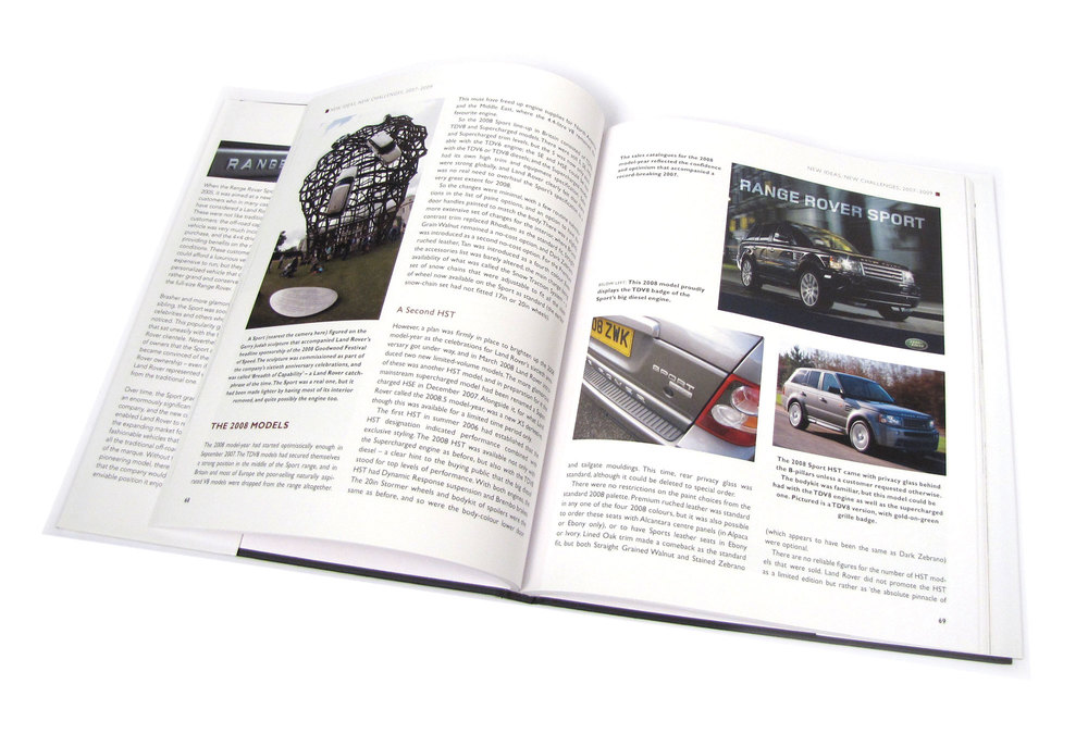 Range Rover Sport 2005 - 2013, The Complete Story, By James Taylor