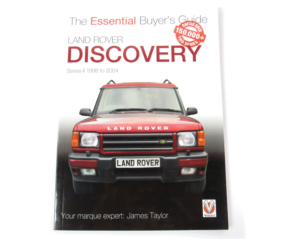 Book: Land Rover Discovery Series 2 Essential Buyer's Guide