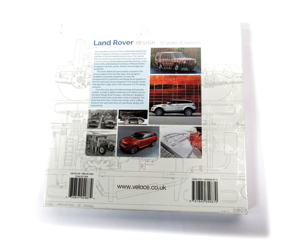 Book: Land Rover Design-70 Years Of Success