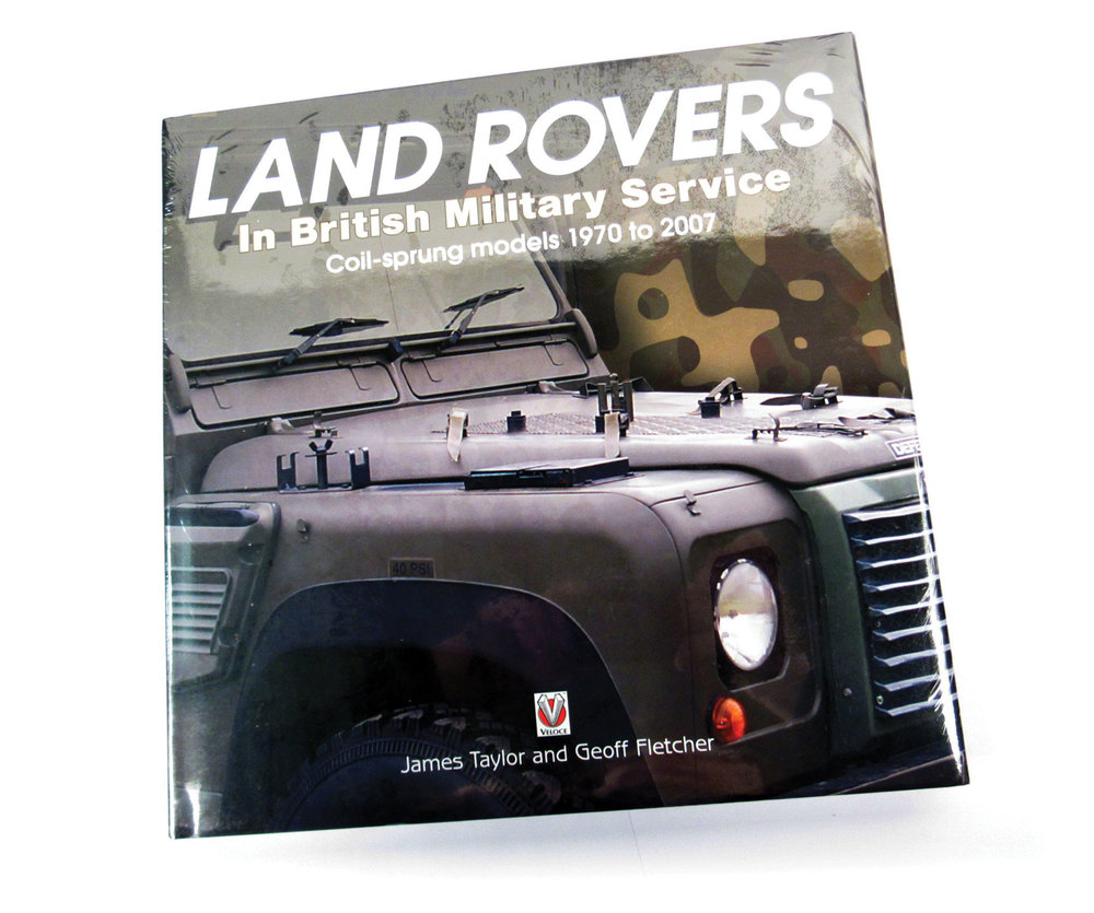 Book: Land Rovers In British Military Service-Coil Sprung 70-07