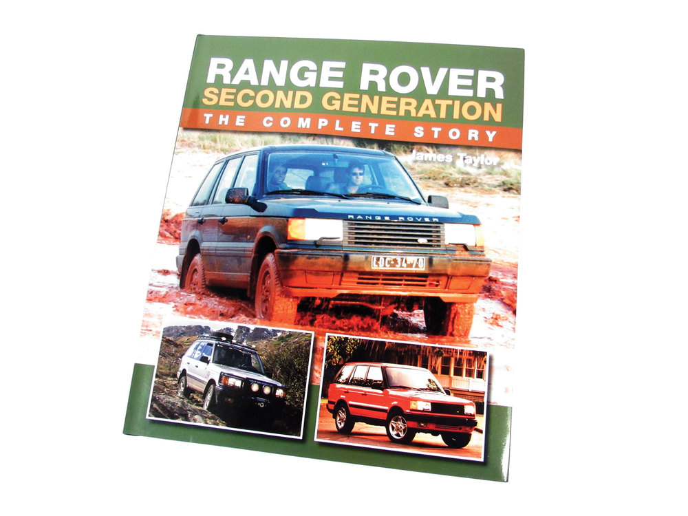 Book: Range Rover 2nd Generation: The Complete Story