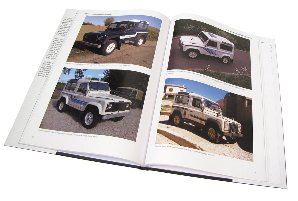 Land Rover 110 And 90 Specification Guide