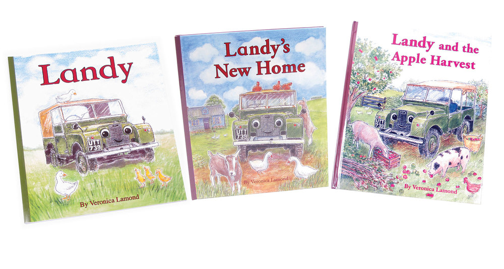 Books: Landy Series, Children's Land Rover Series Storybooks (Set Of 3 Books)