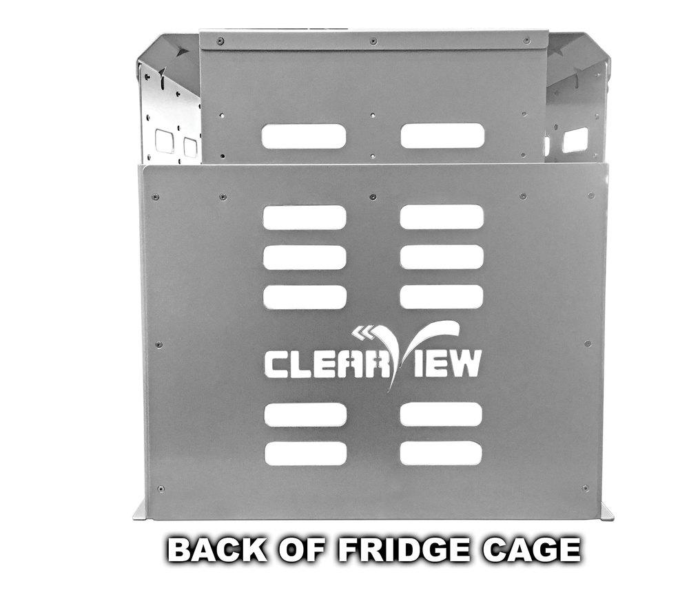 Clearview Fridge Cage For ES-100 / ES-150 Slides Back