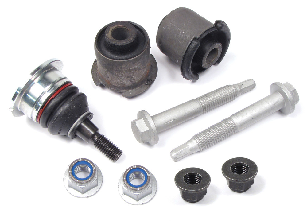 Control Arm Rebuild Kit, Front Upper, For Land Rover LR3 And LR4, Includes New Ball Joint, Bushings And Hardware