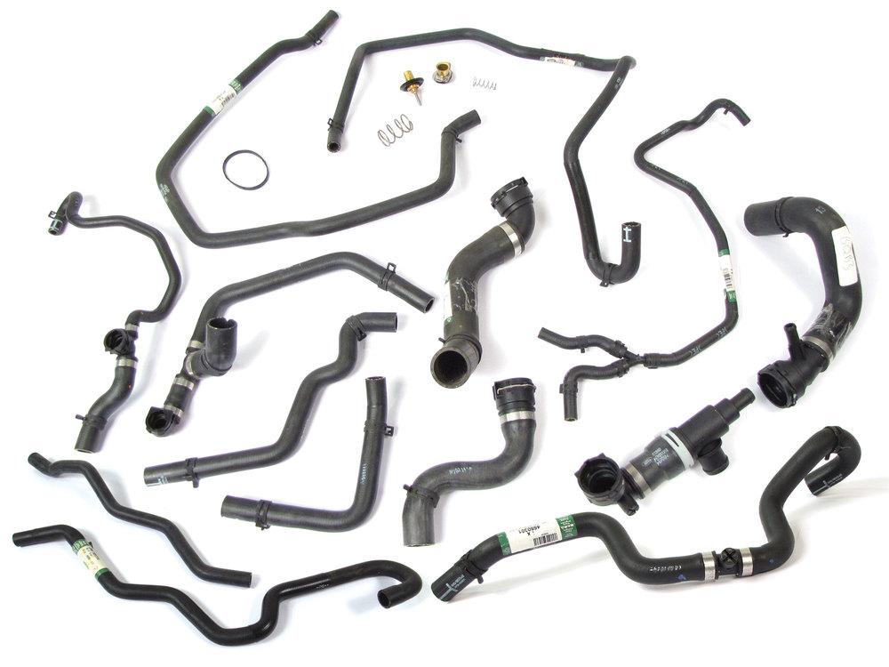 Coolant Hose And Thermostat Kit For Range Rover Full Size 4.4 L322 (Jaguar Engine)