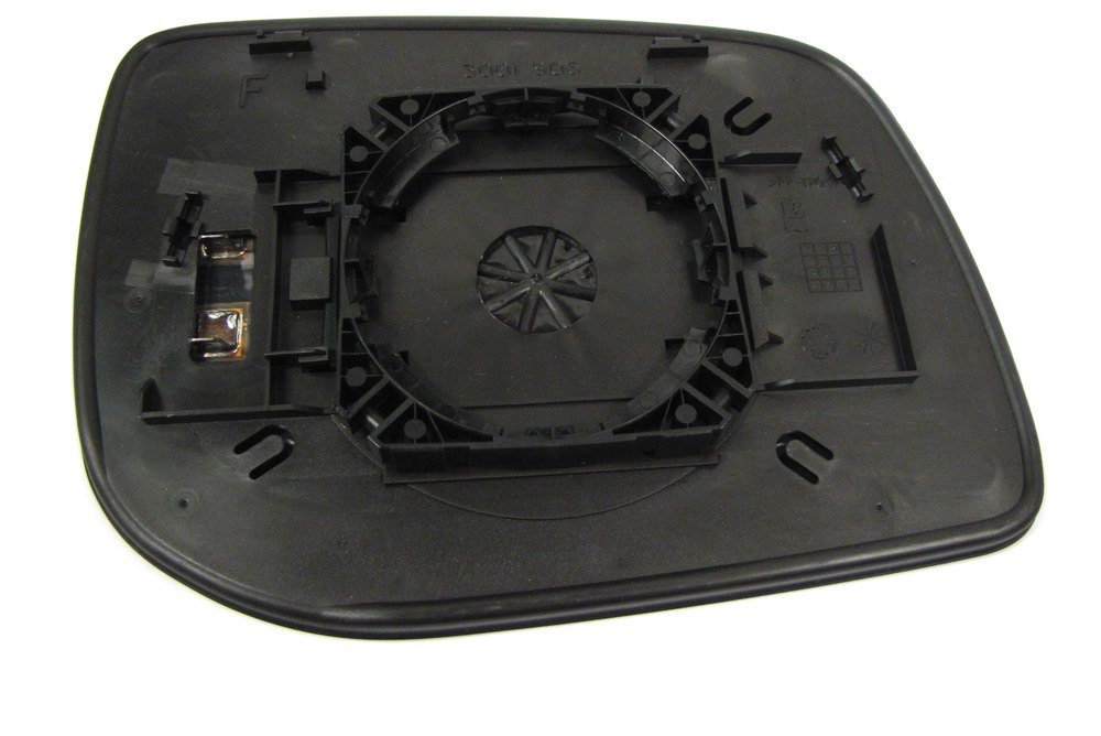 Genuine Side Mirror Glass CRD000380, Left Hand Convex Non-Electrochromatic, For Range Rover P38, 1999 - 2002