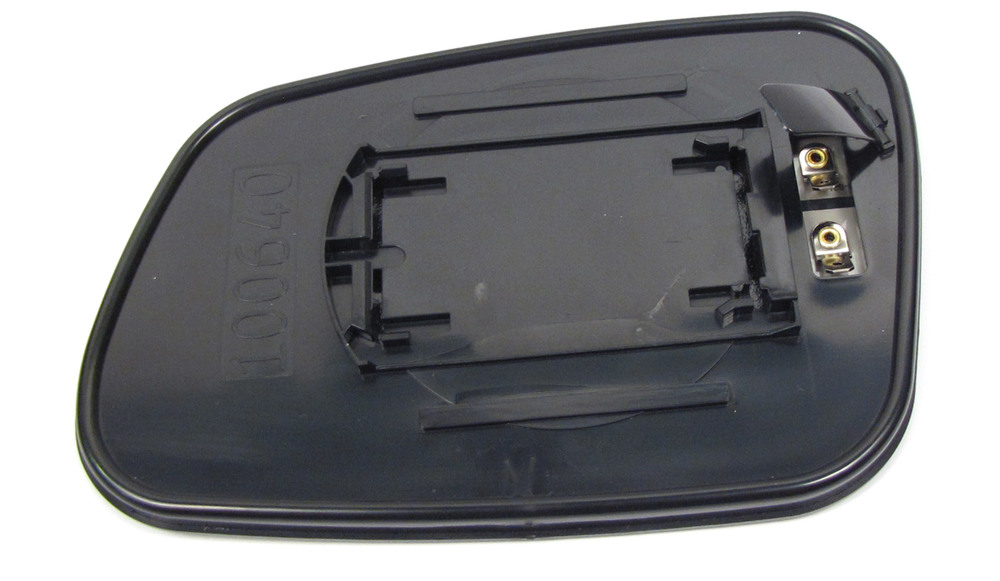 Heated Side Mirror Replacement Glass CRD100640, Right Hand, Convex, For Land Rover Discovery I And Discovery Series II