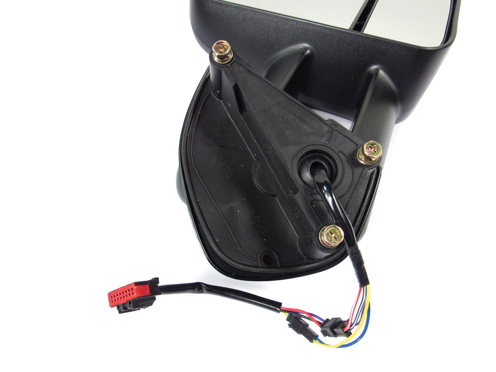 Clearview towing mirror electric hookups for Land Rover and Range Rover closeup