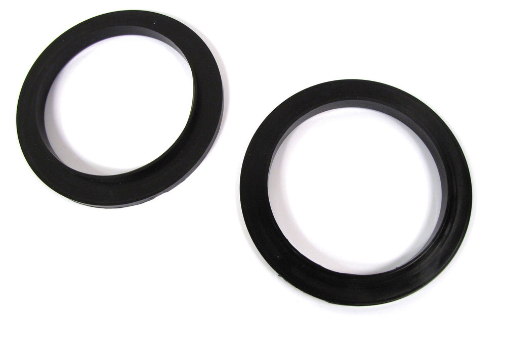 Rear Coil Spring Isolators, Cast Urethane Pair, For Land Rover Defender 110, North American Spec