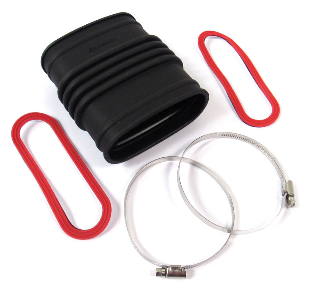 Premium Intake Hose, Air Filter Box To Inner Fender, High Temperature Silicone, For Land Rover Discovery 2