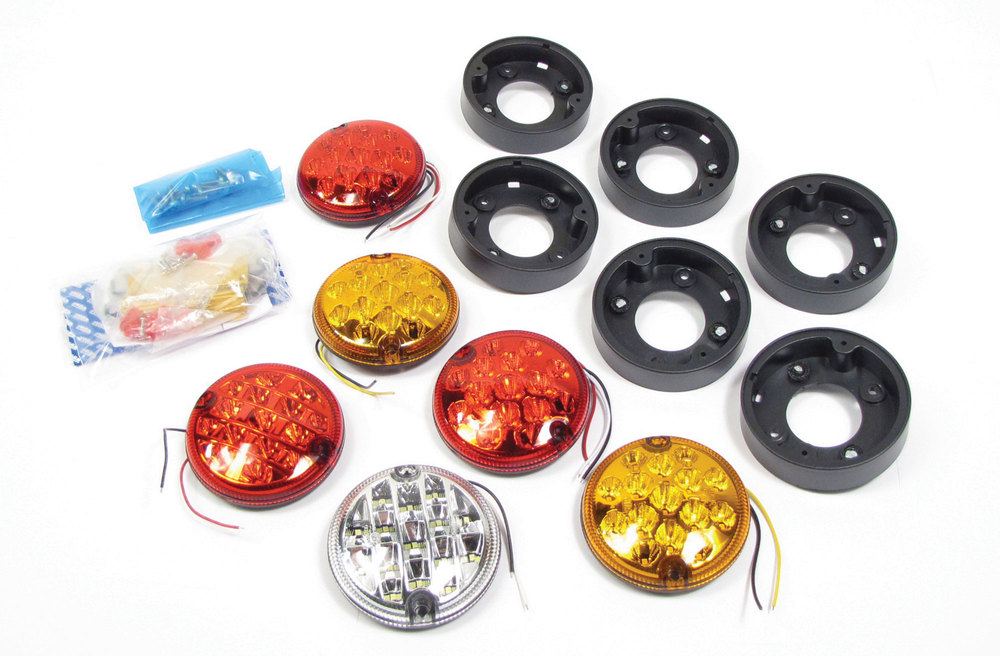 External Ledlight Upgrade Kit For Land Rover Defender 90, North American Spec, 1994 - 1997
