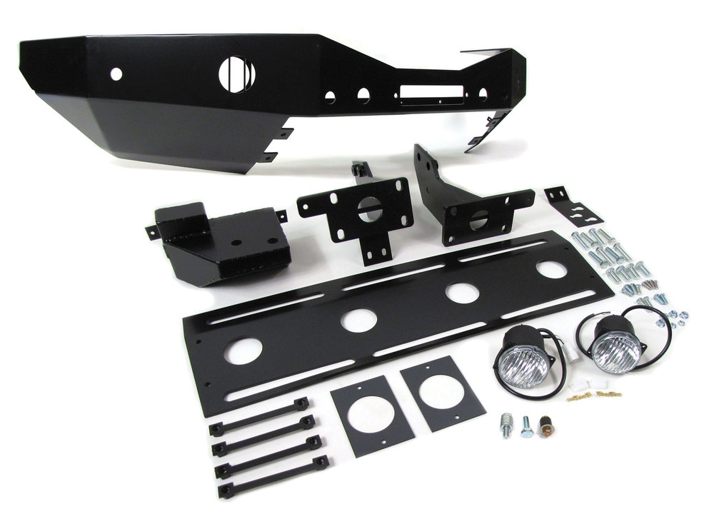 black front winch bumper kit for LR3
