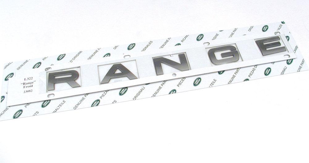 RANGE decal
