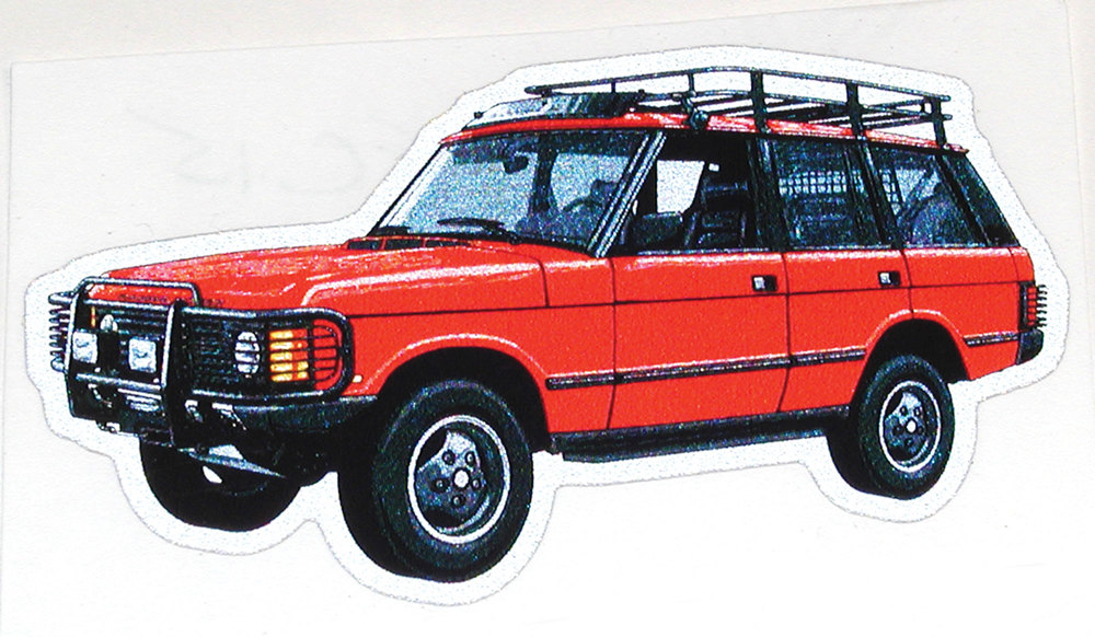 Range Rover Classic decal