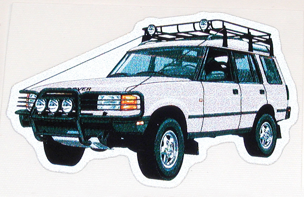 Land Rover Discovery I decal