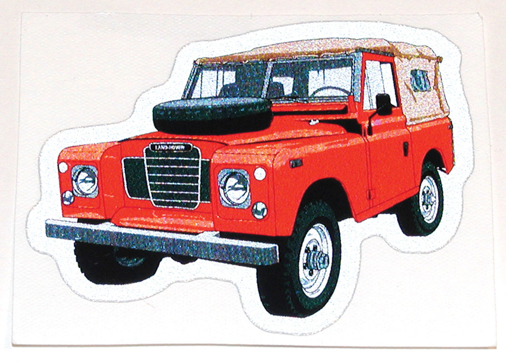 Land Rover Series III decal