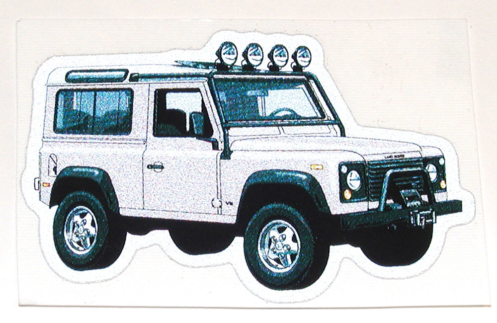 Defender 90 decal
