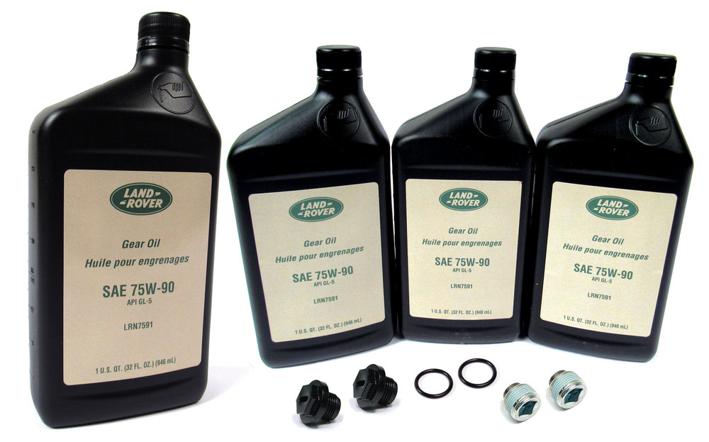 Front And Rear Differential Service Kit For Land Rover Discovery Series II