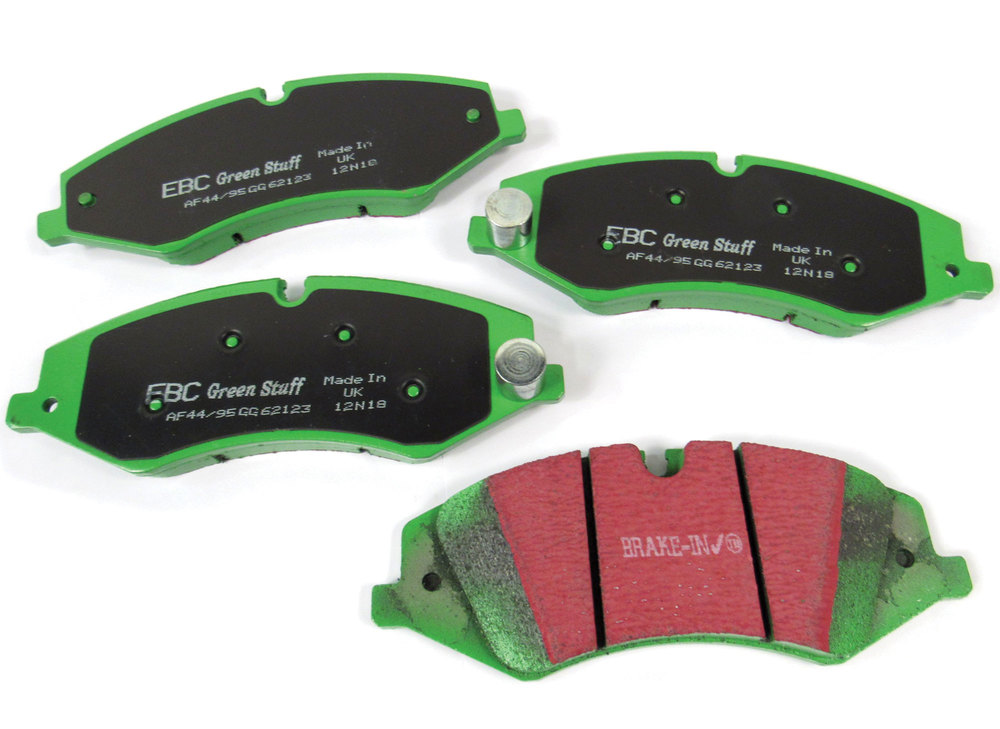 EBC Greenstuff Performance Front Brake Pads For LR4, Discovery 5, Range Rover Full Size, And Range Rover Sport