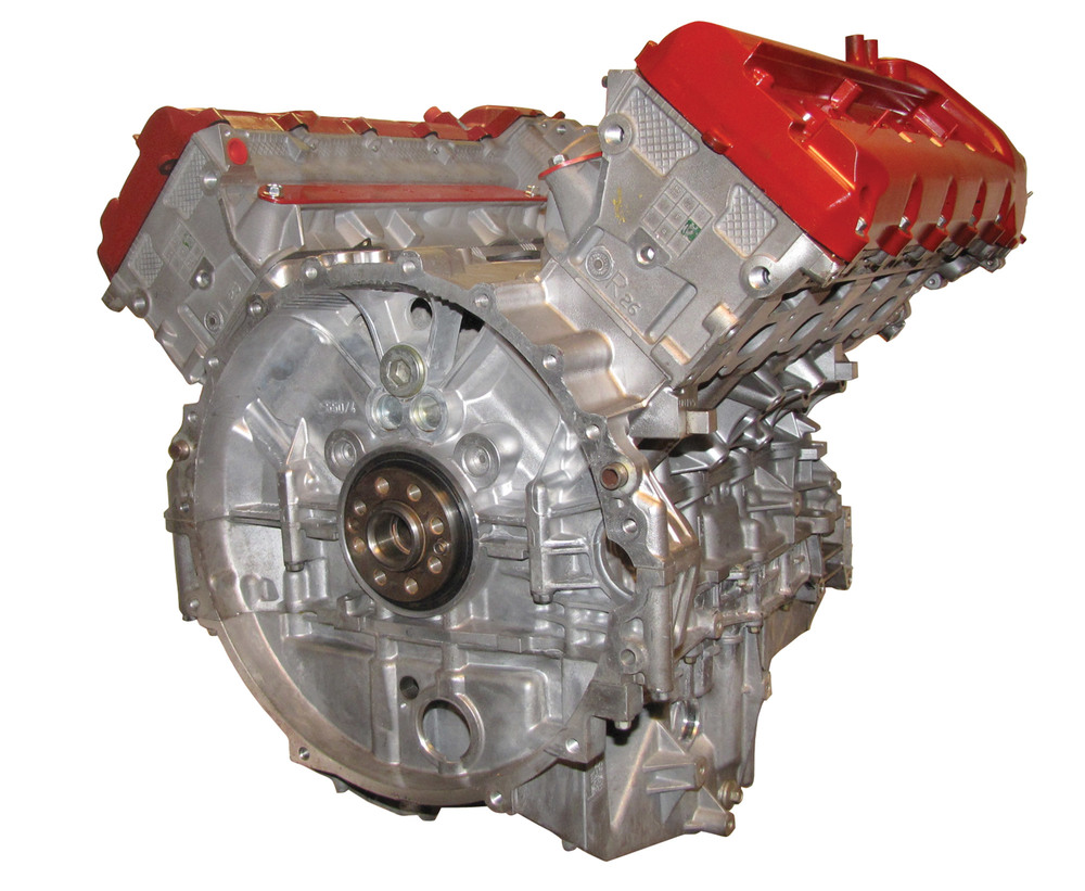 Range Rover Full Size Supercharged 4.2 Engine: Remanufactured Long Block Includes Water Pump, Heads And Rockershaft (Core Charge Additional)