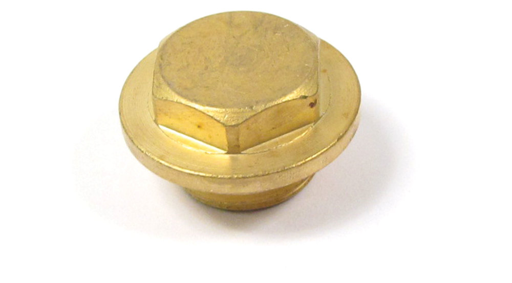 Radiator Fill Plug ERR4686, Brass, For Land Rover Discovery I And Range Rover Classic