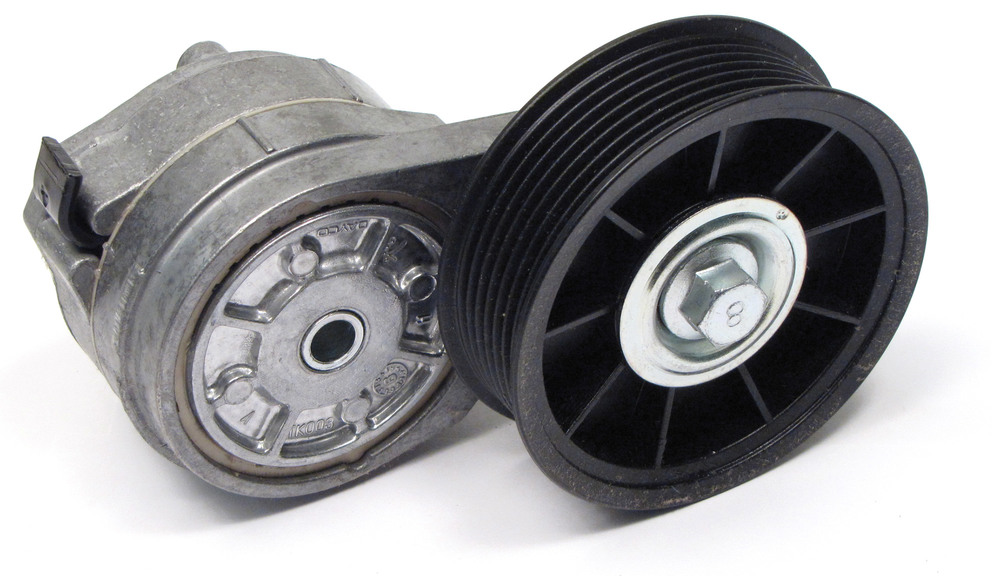 Tensioner Pulley Assembly ERR6439, Original Equipment By DAYCO, For Land Rover Discovery Series II And Range Rover P38