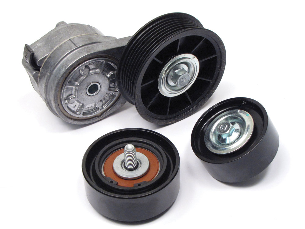 Land Rover belt tensioner kit