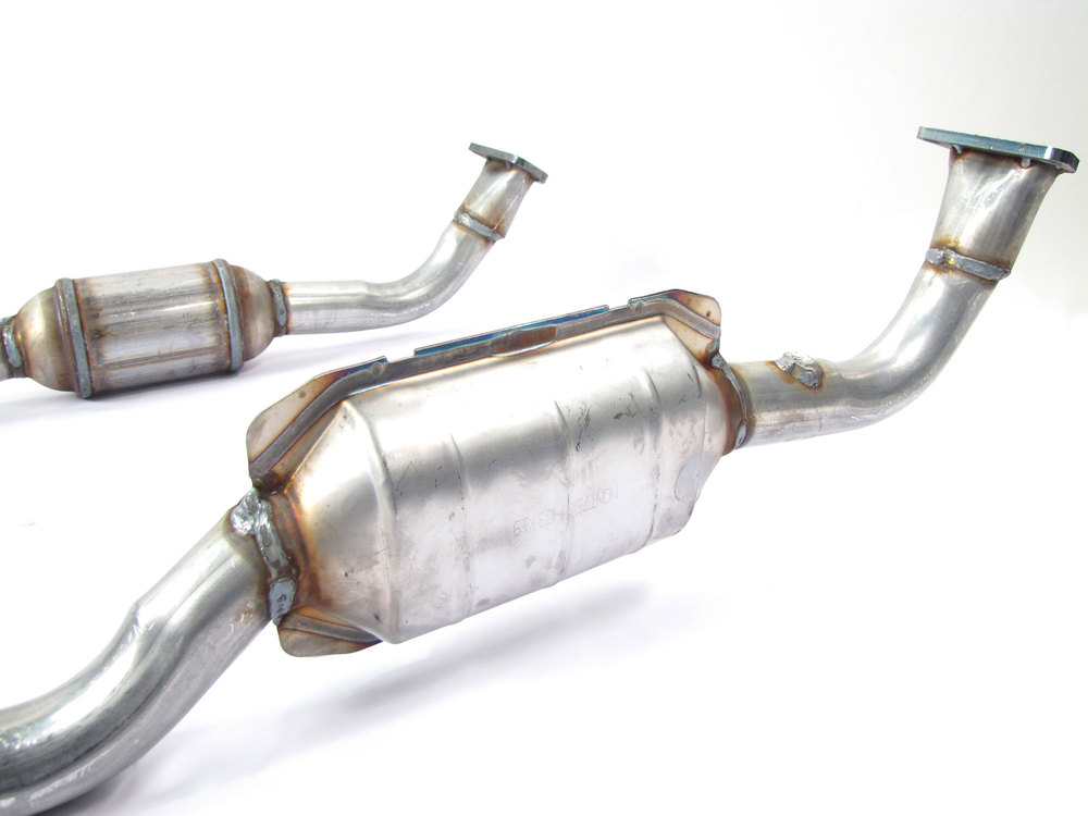 Catalytic Converter, Split Y-Pipe, For Land Rover Defender And Discovery I