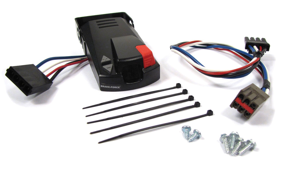 Electric Trailer Brake Controller Kit By Atlantic British For Land Rover LR3, LR4 And Range Rover Sport, North American Spec Only
