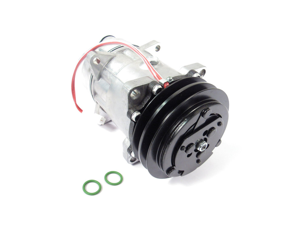 New A/C Compressor Assembly ETC7994 By Nissens, For Range Rover Classic (See Fitment Years)