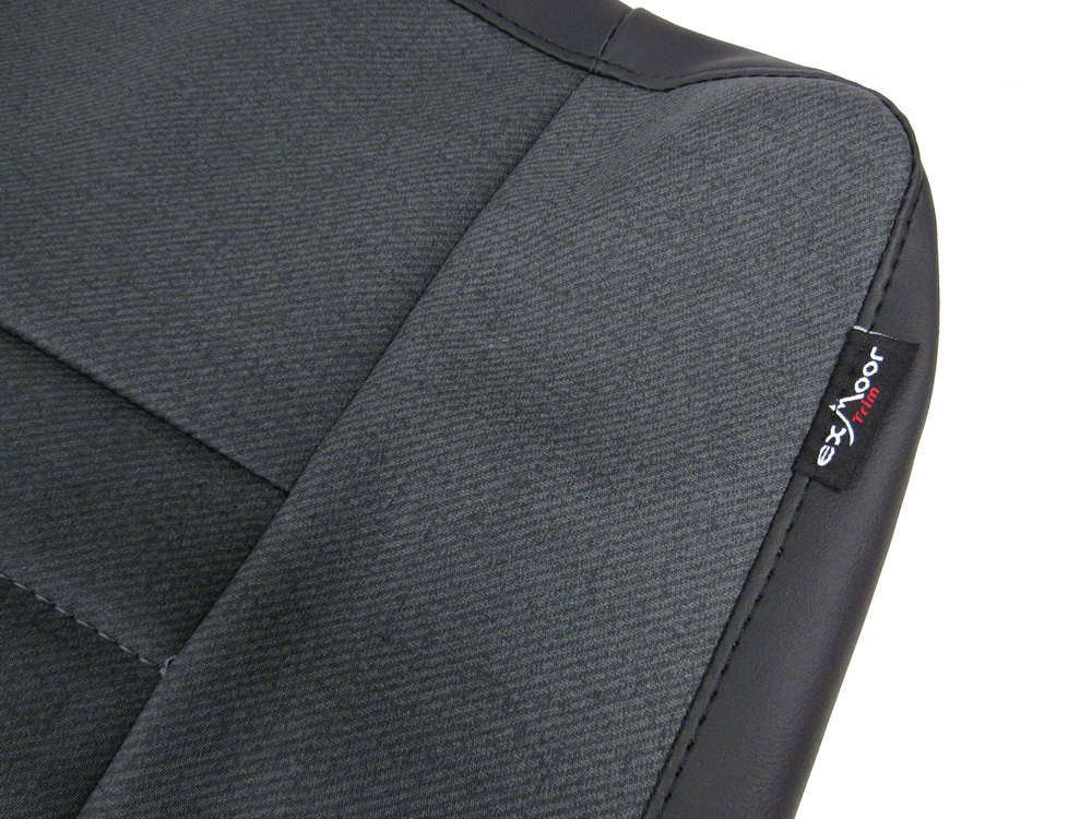 Seat Retrim Kit: Forward Facing Rear Bench Seat By Exmoor Trim For Defender 90 (North American Spec)