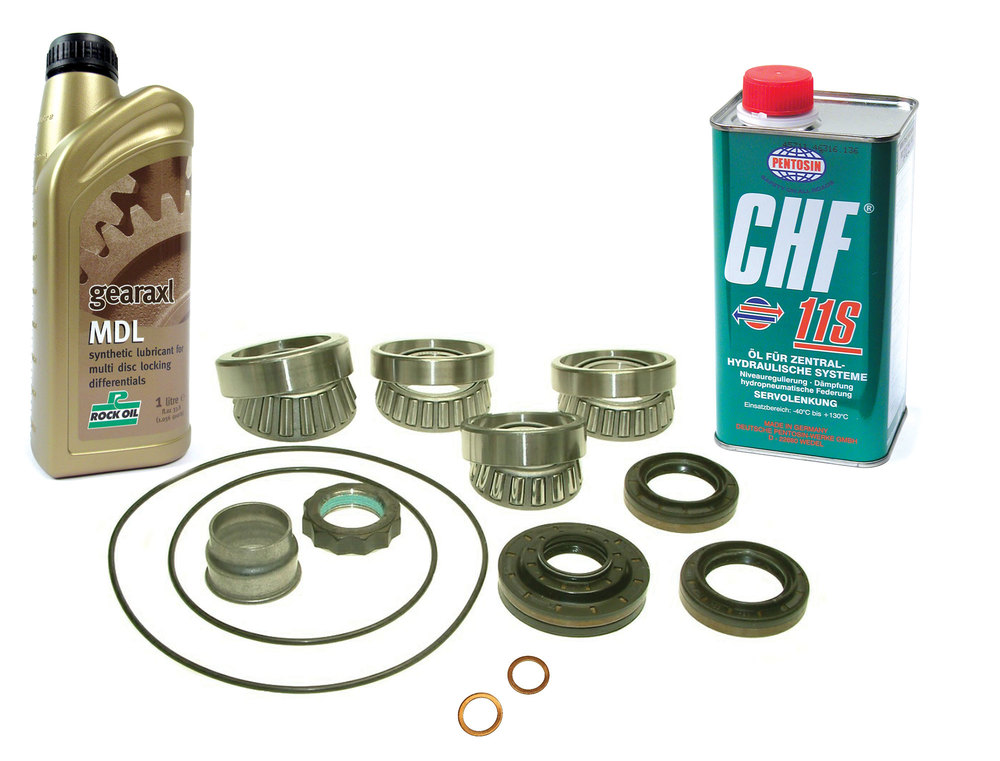 Rear Differential Repair Kit With Fluids For Range Rover Evoque With Active Driveline