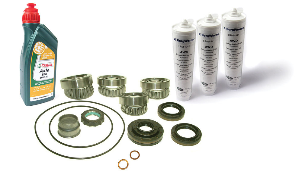 Rear Differential Repair Kit With Fluids For LR2 And Range Rover Evoque Without Active Driveline (See Fitment Notes)