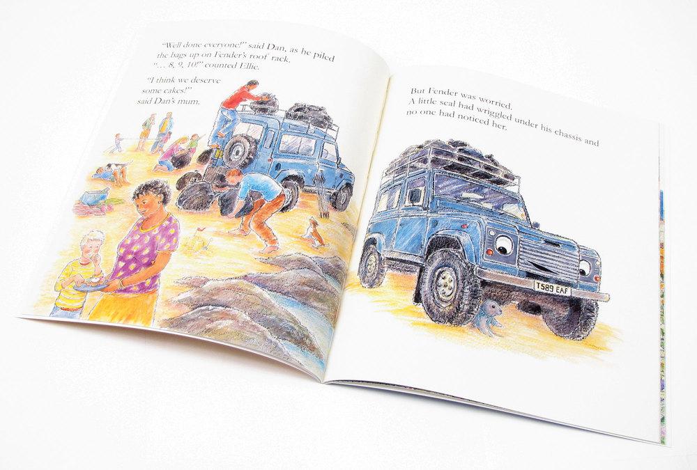 Fender childrens book - inside