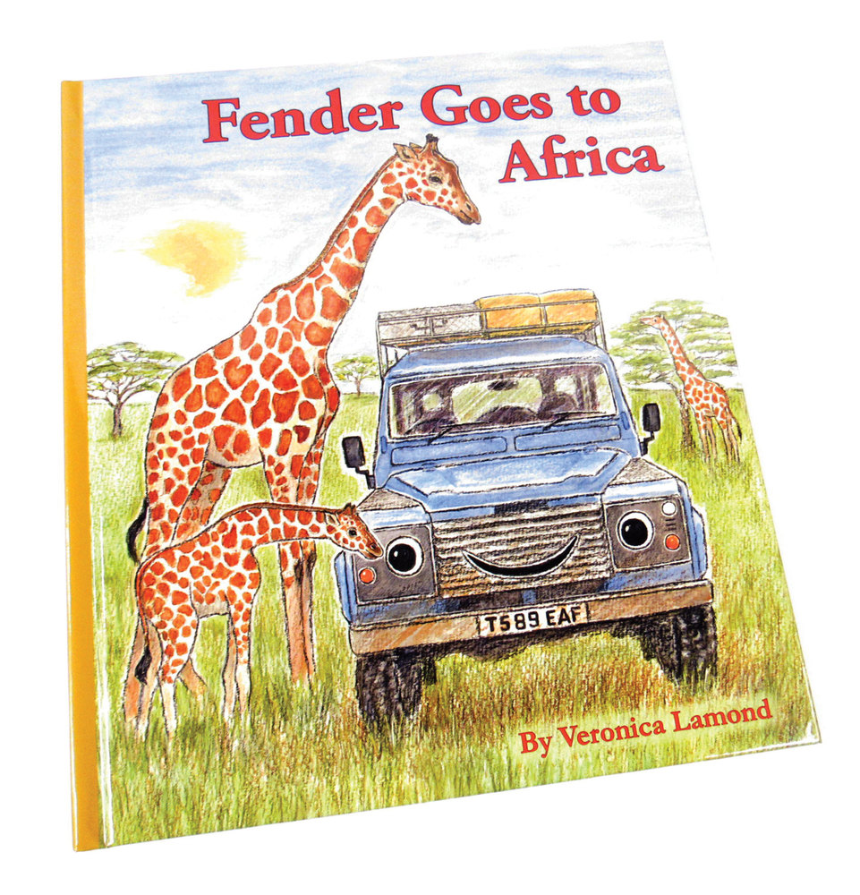 Book: Fender Goes To Africa, A Children's Land Rover Defender Storybook