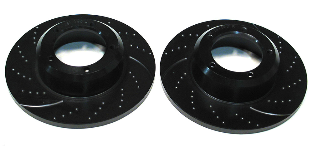 EBC front brake rotors