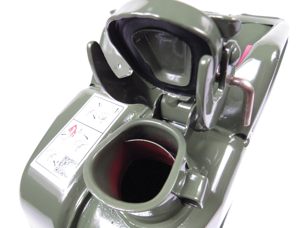 Set Of 4 NATO Jerry Cans 20 Liter / 5 Gallon Metal, Olive Drab Green (GJC20), Built To European Military Spec By VALPRO
