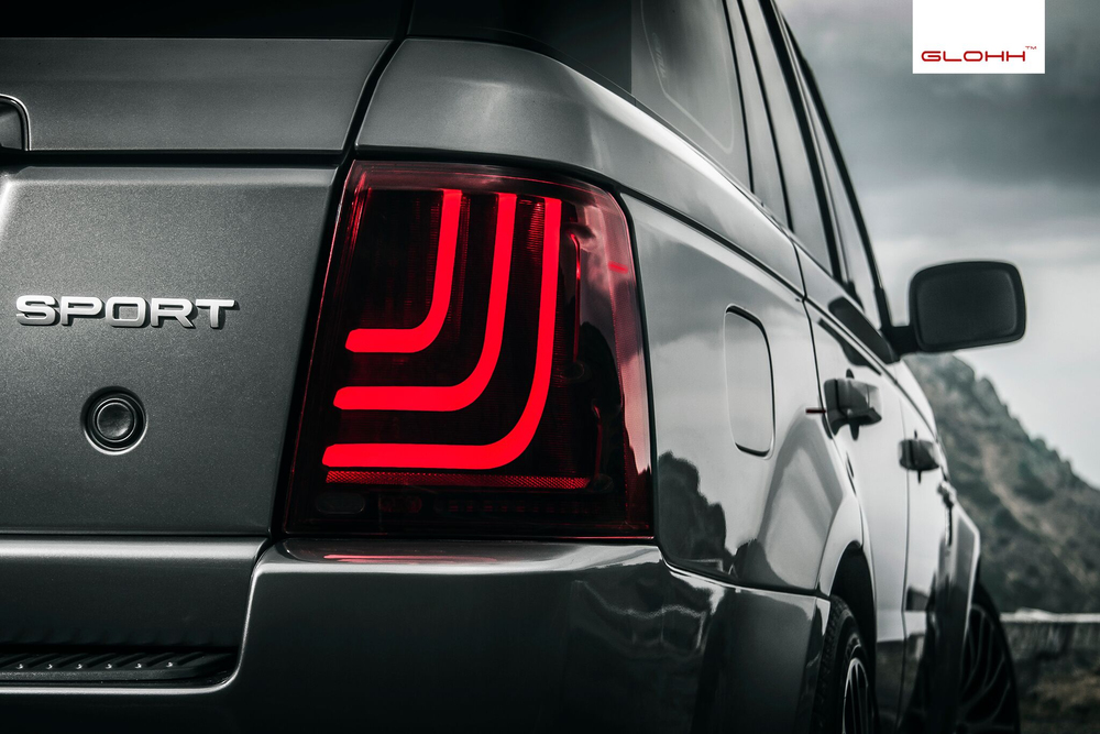 GL-3 tail lights installed on Range Rover Sport